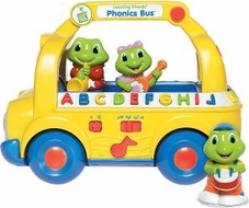 LeapFrog Learning Friends Phonics Bus Vehicle - click to enlarge