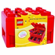 Lego Deluxe Brick and Minifigure Storage Carrying Case with Pull Out Drawer - click to enlarge