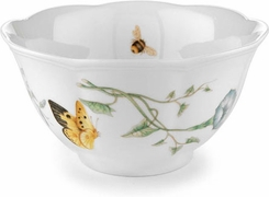 Lenox 6083448 Butterfly Meadow Fine Porcelain Rice Bowl - click to enlarge