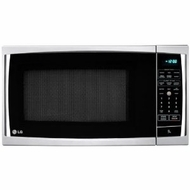 LG LCRT1510SV 1.5 cu. ft. Countertop Microwave Oven with 1,200 Cooking Watts, 6 Auto Cook Options - click to enlarge