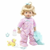 Little Mommy Real Loving Baby Walk and Giggle Doll - click to enlarge