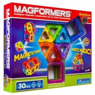 Magformers Rainbow 30 Piece Set - click to enlarge