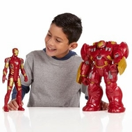 Marvel Avengers Titan Hero Tech Interactive Hulk Buster 12 Inch Figure - click to enlarge