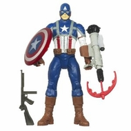 Marvel Captain America Electronic Feature Play Action Figure - click to enlarge