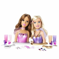 Mattel Barbie Fashion Fever Styling Heads - click to enlarge