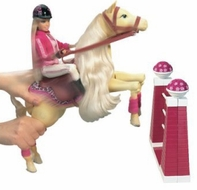 Mattel Barbie Jumping Tawny Horse - click to enlarge