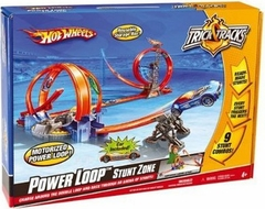 Mattel Hot Wheels Trick Tracks Power Loop Stunt Zone - click to enlarge