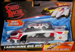 Mattel Speed Racer Mach 5 Launching Big Rig - click to enlarge