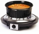 Maxi-Matic Elite Cuisine Single Burner 750-Watt Hot Plate