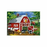 Melissa and Doug 0030 pc Barnyard Cardboard Jigsaw - click to enlarge