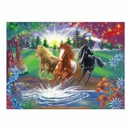 Melissa and Doug 0300 pc River Run Cardboard Jigsaw - click to enlarge
