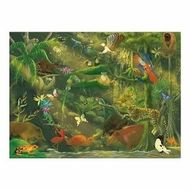 Melissa and Doug 0500 pc Beneath the Canopy Cardboard Jigsaw - click to enlarge