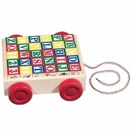 Melissa and Doug 1169 Classic ABC Block Cart - click to enlarge