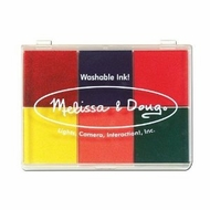 Melissa and Doug 1637 Six-Color Rainbow Stamp Pad - click to enlarge
