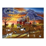 Melissa and Doug 200 pc Rustic Dusk Cardboard Jigsaw - click to enlarge