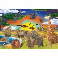 Melissa and Doug 200 pc Safari Adventure Cardboard Jigsaw - click to enlarge