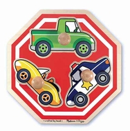 Melissa and Doug #2057 Stop Sign (Vehicles) Jumbo Knob Puzzle - click to enlarge