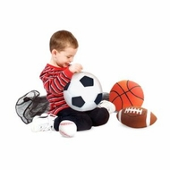 Melissa and Doug 2179 Sports Throw Pillows - click to enlarge