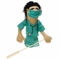 Melissa and Doug 2550 Deluxe Surgeon Puppet - click to enlarge