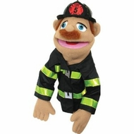 Melissa and Doug 2552 Firefighter Puppet - click to enlarge