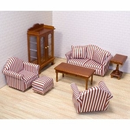 Melissa and Doug 2581 Doll House Furniture: Living Room Set - click to enlarge