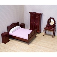 Melissa and Doug 2583 Doll House Bedroom Furniture - click to enlarge