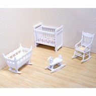 Melissa and Doug 2585 Doll House Nursery Furniture - click to enlarge