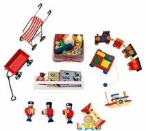 Melissa and Doug #2593 Doll-House Nursery Room Accessories - click to enlarge