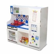 Melissa and Doug 2607 Classic Deluxe Kitchen - click to enlarge