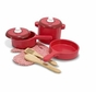 Melissa and Doug 2610 Deluxe Wooden Kitchen Accessory Set