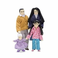 Melissa And Doug 2688 Victorian Doll Family - Asian - click to enlarge