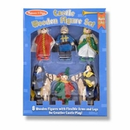 Melissa and Doug 285 Castle Wooden Figure Set - click to enlarge