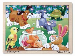 Melissa and Doug #2932 Pets Jigsaw Puzzle 912 pc) - click to enlarge