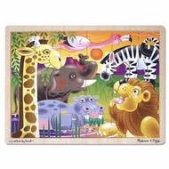 Melissa and Doug 2937 African Plains Jigsaw Puzzle - click to enlarge
