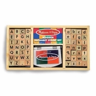 Melissa and Doug 3557 Deluxe Alphabet Stamp Set - click to enlarge