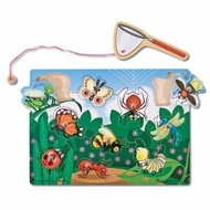 Melissa and Doug 3779 Deluxe 10-Piece Magnetic Bug Catching Game - click to enlarge