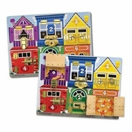 Melissa and Doug 3785 Deluxe Latches Board - click to enlarge