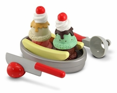 Melissa and Doug 4018 Slice and Scoop Sundae Set - click to enlarge