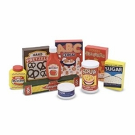 Melissa and Doug 4077 Wooden Pantry Products - click to enlarge