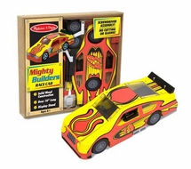 Melissa and Doug #4093 Mighty Builders Race Car - click to enlarge