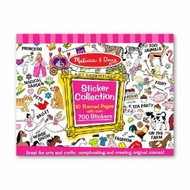 Melissa and Doug 4247 Sticker Collection - Pink - click to enlarge
