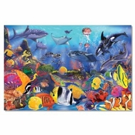 Melissa and Doug 427 Underwater 48-Piece Floor Puzzle - click to enlarge