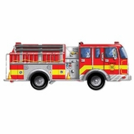 Melissa and Doug 436 Giant Fire Truck Floor Puzzle - click to enlarge