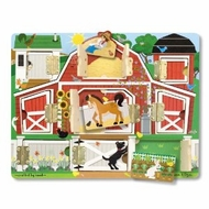 Melissa and Doug 4592 Magnetic Farm Hide and Seek Board - click to enlarge