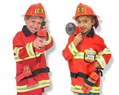 Melissa and Doug 4834 Fire Chief Role Play Costume Set - click to enlarge
