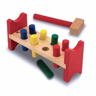 Melissa and Doug 496 Wooden Pound a Peg - click to enlarge