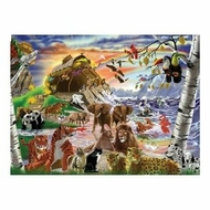 Melissa and Doug 500 pc After the Flood Cardboard Jigsaw - click to enlarge