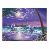 Melissa and Doug 500 pc Seaside Stallions Cardboard Jigsaw - click to enlarge