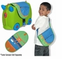 Melissa and Doug #5412 Trunki Blue / Green Saddlebag
