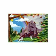 Melissa and Doug 60 pc Enchanted Castle Cardboard Jigsaw - click to enlarge